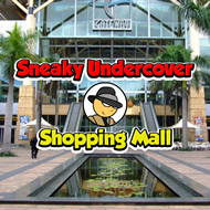 Sneaky Undercover Shopping Mall