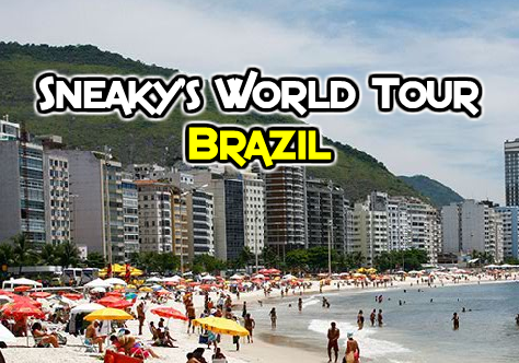 Sneakys World Tour Brazil