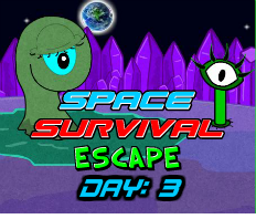 Space Survival Escape Day 3